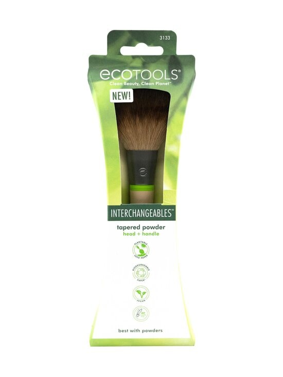 Eco Tools - Tapered Powder Brush, Interchangeable Collection -puuterisivellinsetti - NOCOL   Stockmann - photo 2