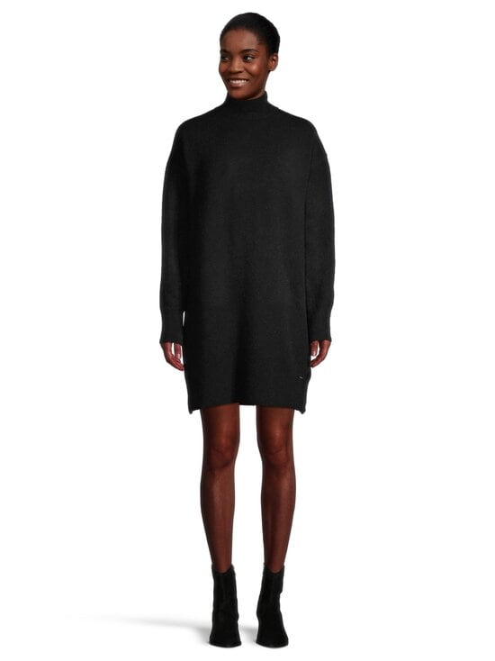 Superdry - Hailey Knitted Dress -neulemekko - 02A BLACK | Stockmann - photo 2