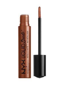 NYX Professional Makeup - Liquid Suede Metallic Matte -nestemäinen huulipuna | Stockmann