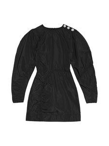 Ganni - Recycled Polyester -mekko - BLACK 099   Stockmann