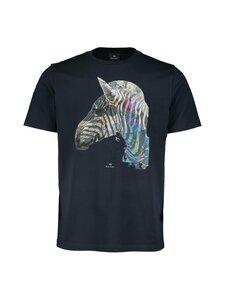 PS Paul Smith - Regular Fit Graffiti Zebra -paita - 49 BLUE | Stockmann