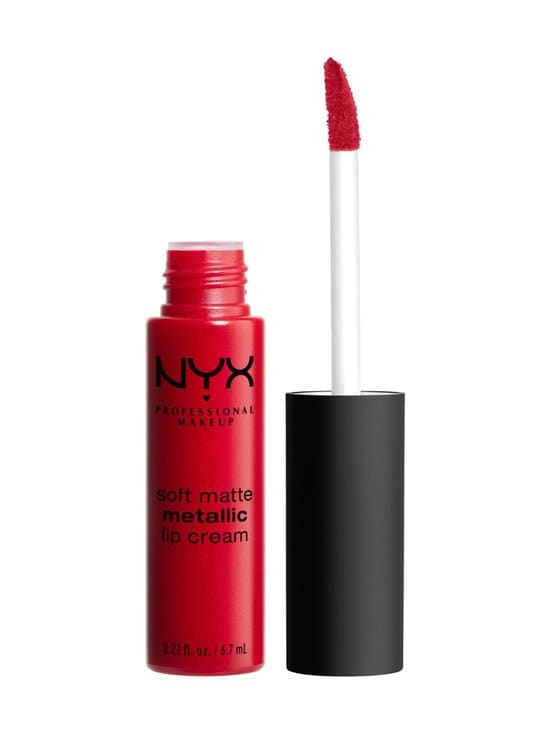 NYX Professional Makeup - Soft Matte Metallic Lip Cream -huulivoide - 01 MONTE CARLO | Stockmann - photo 1