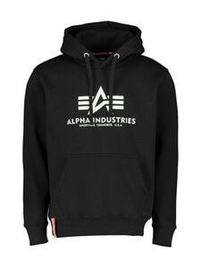 Alpha Industries - Basic Kryptonite Hoody -huppari - 03 BLACK | Stockmann