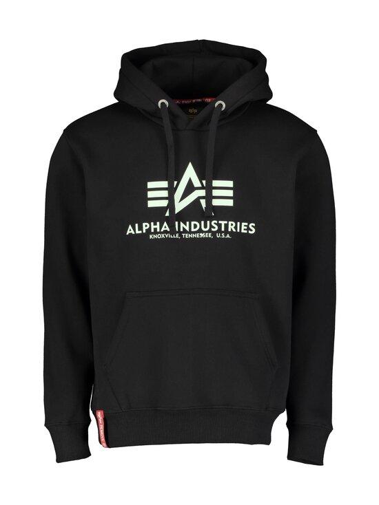 Alpha Industries - Basic Kryptonite Hoody -huppari - 03 BLACK | Stockmann - photo 1