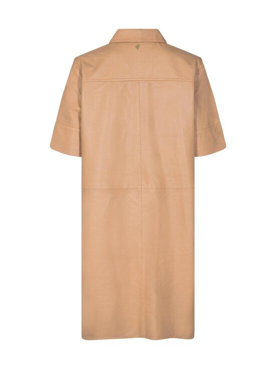 MOS MOSH - Esther Leather Dress -nahkamekko - NEW SAND   Stockmann - photo 2