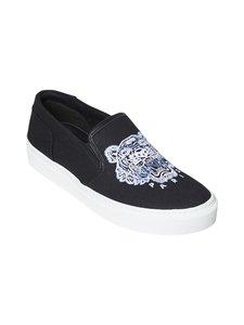 Kenzo - K-Skate Tiger Slip-On -sneakerit - 99 BLACK | Stockmann