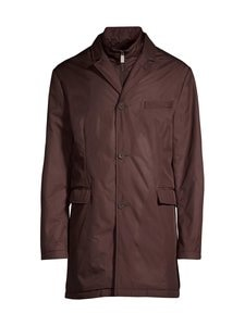 Canali - Technical Jacket -takki - 502 BROWN   Stockmann