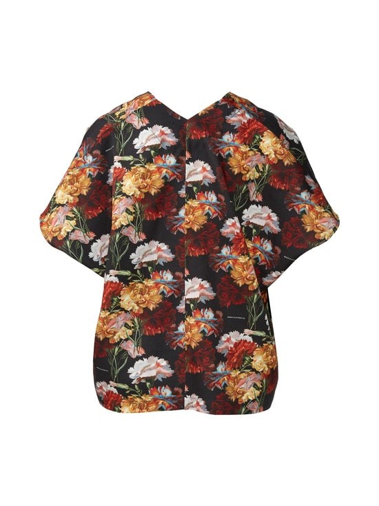 Makia - Makia x Von Wright Flowers Kaftan Shirt -paita - BLACK | Stockmann - photo 2
