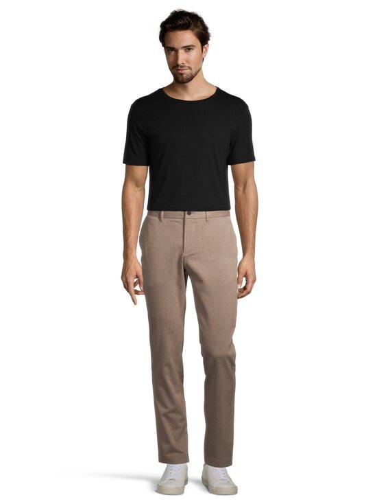 J.Lindeberg - Chaze Flannel Twill Pants -housut - E246 WOOD BROWN | Stockmann - photo 2