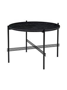 Gubi - TS Coffee Table -sohvapöytä ⌀ 55 cm - BLACK MARQUINA MARBLE | Stockmann