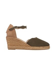 Wonders - Espadrille Suede Strap -sandaalit - ANTE MILITSY GREEN AS PIECE OF SAMPLE   Stockmann