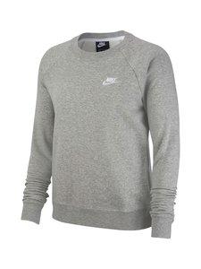 Nike - Sportswear Essential Crew -collegepaita - DARK GREY HEATHER/WHITE | Stockmann