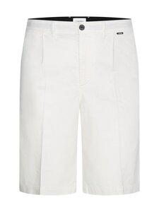 Calvin Klein Menswear - Regular Pleat Cotton Linen -shortsit - YAF BRIGHT WHITE | Stockmann