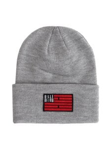 BILLEBEINO - Flag Beanie -pipo - GREY | Stockmann