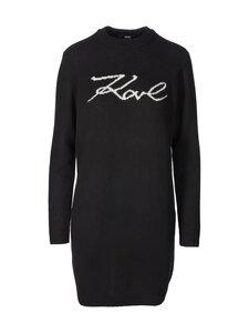 Karl Lagerfeld - Long Signature Sweater -villasekoiteneule - 999 BLACK | Stockmann
