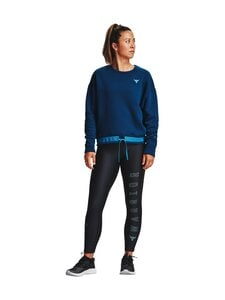 Under Armour - Project Rock Ankle Crop -trikoot - 446 ACADIA / SKYLIGHT / SKYLIGHT | Stockmann