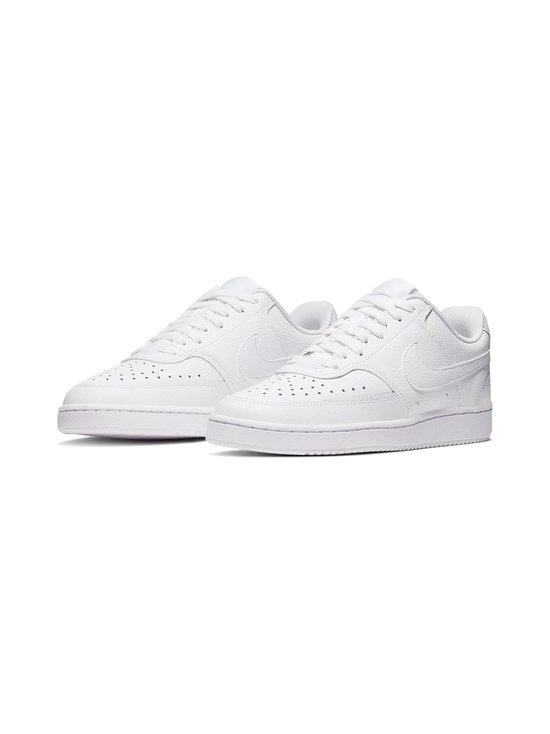 Nike - Court Vision Low -tennarit - WHITE/WHITE-WHITE | Stockmann - photo 6