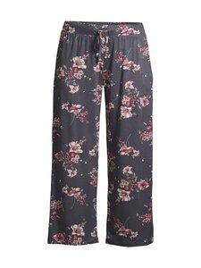 NOOM loungewear - Lotta-pyjamahousut - DK.GREY PRINT COMBO | Stockmann