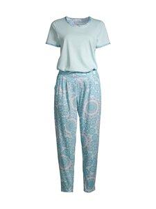Damella - Mosaic-pyjama - 081 081 BLUE | Stockmann