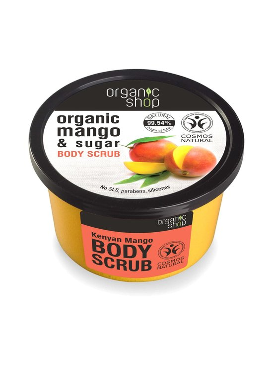 Organic Shop - Kenyan Mango Body Scrub -vartalokuorinta 250 ml | Stockmann - photo 1
