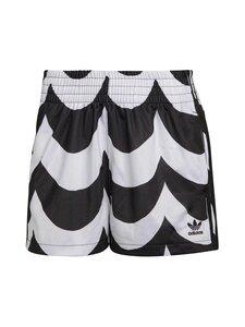 adidas x Marimekko - Short -shortsit - BLACK/WHITE BLACK/WHITE | Stockmann