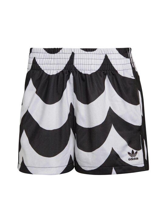 adidas x Marimekko - Short -shortsit - BLACK/WHITE BLACK/WHITE | Stockmann - photo 1