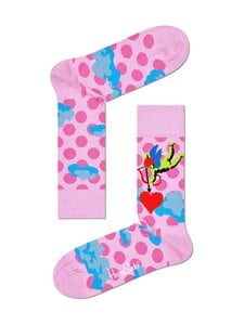 Happy Socks - Cupid With Heart -sukat - 3000-PINK | Stockmann