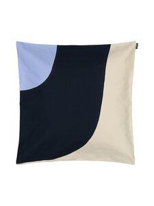 Marimekko - Seireeni-tyynynpäällinen 60 x 60 cm - LUONNONVALKOINEN/SININEN/TUMMANSININEN | Stockmann