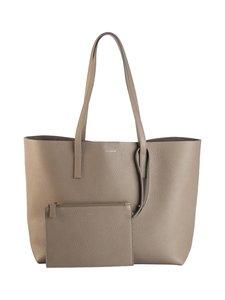 Balmuir - Estelle Shopper Bag -nahkalaukku - TAUPE (VAALEANRUSKEA) | Stockmann