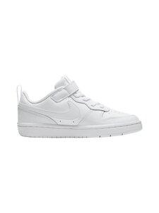 Nike - Court Borough Low 2 -sneakerit - 100 WHITE/WHITE-WHITE | Stockmann