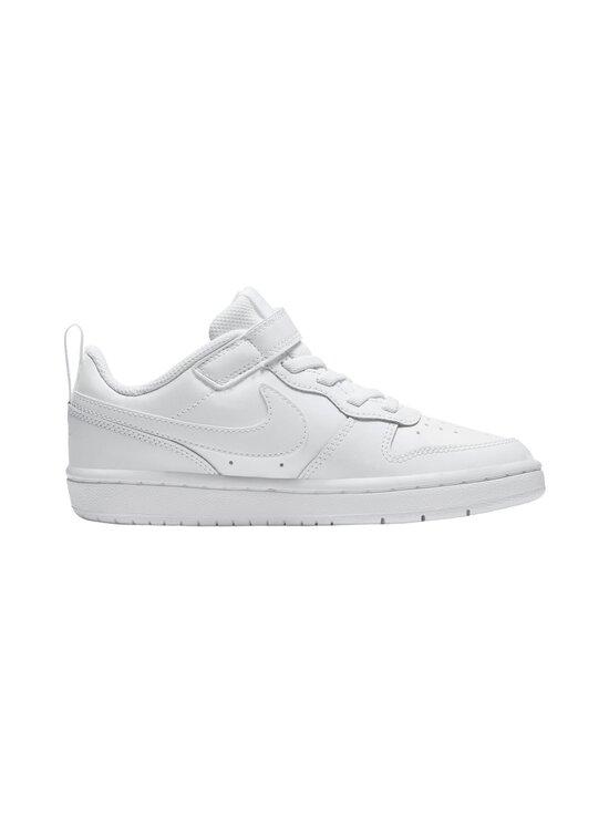 Nike - Court Borough Low 2 -sneakerit - 100 WHITE/WHITE-WHITE | Stockmann - photo 1