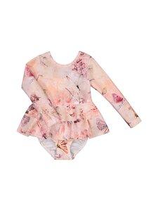 Gugguu - Print Uv Swimsuit Dress -uimapuku - CORAL BUTTERFLY | Stockmann