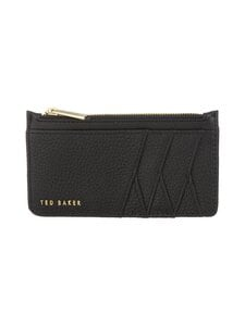 Ted Baker London - Gerii Diagonal Zipped CC Holder -korttikotelo - 00 BLACK | Stockmann