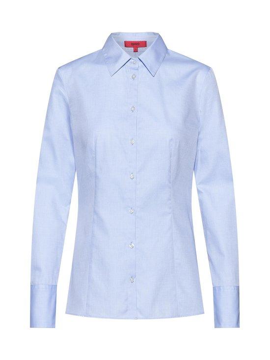 HUGO - The Fitted Shirt -paitapusero - 457 LIGHT/PASTEL BLUE | Stockmann - photo 1
