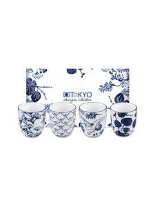 Tokyo Design Studio - Muki 4 kpl - BLUE/WHITE | Stockmann