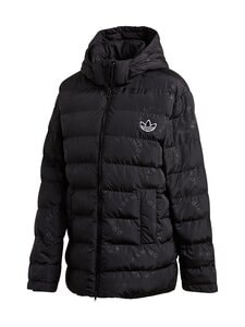 adidas Originals - Dot All Over Print Puffer -toppatakki - BLACK BLACK | Stockmann