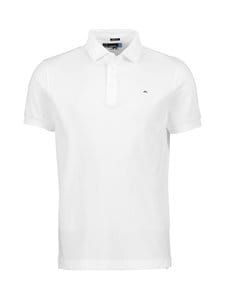 J.Lindeberg - Stan Reg Fit Club Pique -paita - WHITE | Stockmann