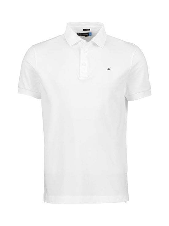J.Lindeberg - Stan Reg Fit Club Pique -paita - WHITE | Stockmann - photo 1