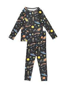 Bogi - Neppe-pyjama - ALMOST BLACK AOP | Stockmann