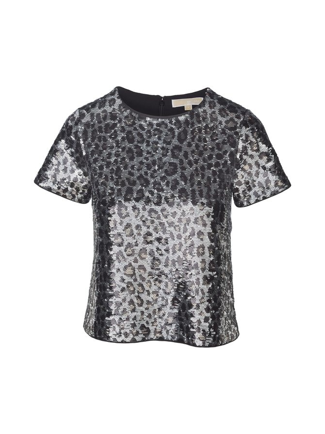 Cheetah Seq Crop -pusero
