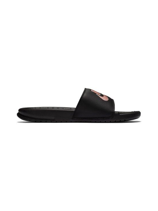 Nike - Benassi Just Do It -sandaalit - BLACK/ROSE GOLD   Stockmann - photo 1