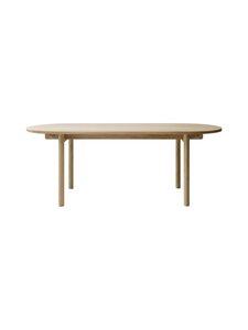 Nikari - Basic Oval -pöytä 200 x 80 x 73 cm - SAARNI | Stockmann