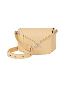 Kenzo - K Small Leather Bag -nahkalaukku - NUDE | Stockmann