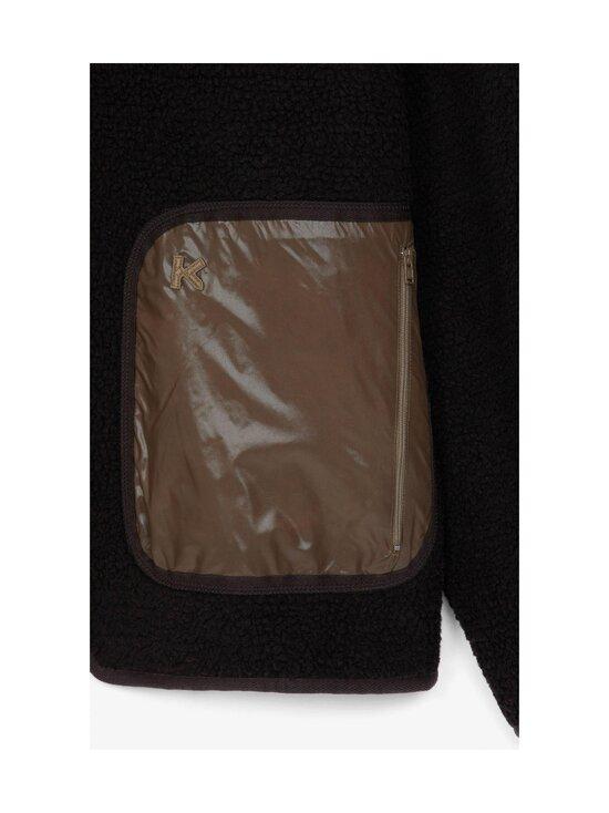 Kenzo - Reversible Jacket -kääntötakki - 164DF.92 92 - DOUBLE FACE PILE - TAUPE   Stockmann - photo 5
