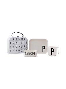 Design Letters - Lastenastiasto, P - VALKOINEN | Stockmann