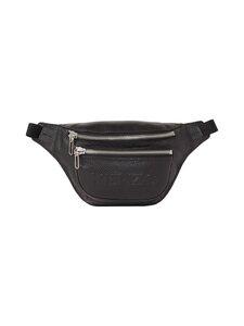 Kenzo - Imprint Grained Leather Bumbag -nahkalaukku - 99BLACK | Stockmann