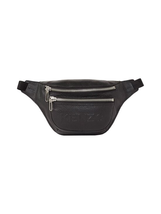 Kenzo - Imprint Grained Leather Bumbag -nahkalaukku - 99BLACK | Stockmann - photo 1