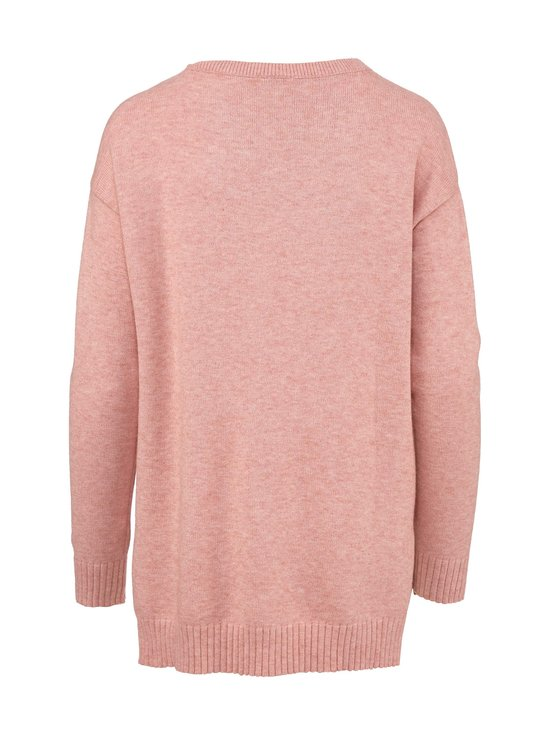 Vila - ViRil High Low L/S Knit Top -neule - MISTY ROSE DETAIL:MELANGE | Stockmann - photo 2