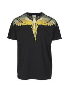 MARCELO BURLON - Wings Basic -paita - 1016 BLACK OCHE | Stockmann