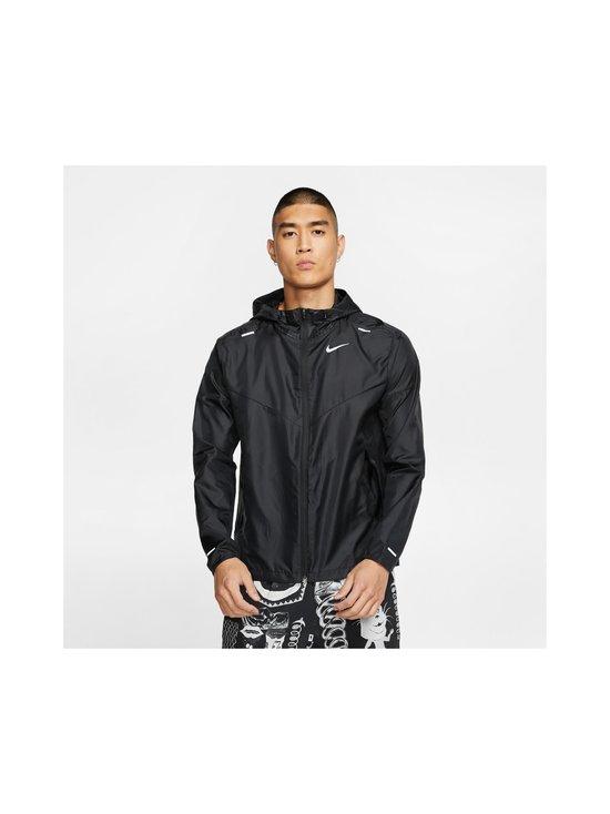 Nike - M Windrunner -takki - BLACK/BLACK/BLACK/REFLECTIVE SILV | Stockmann - photo 3